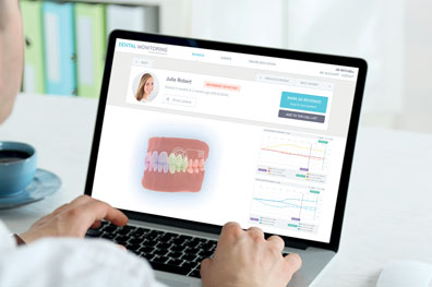 Dental Monitoring makes checkups easy