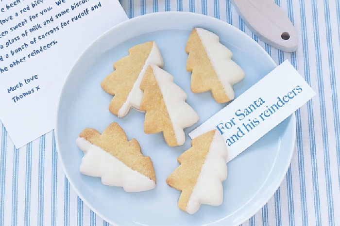 North Pole shortbread