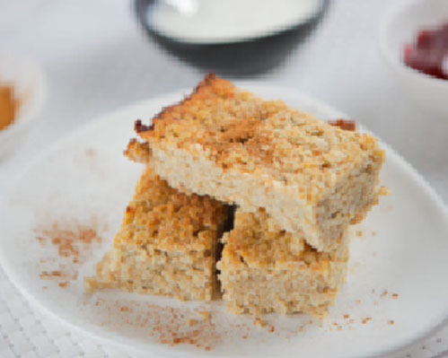 Banana Breakfast Bars
